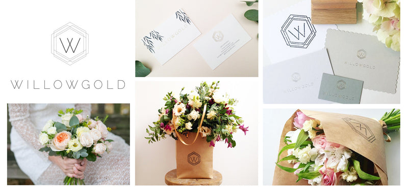 Logo & Branding: Willowgold Flowers