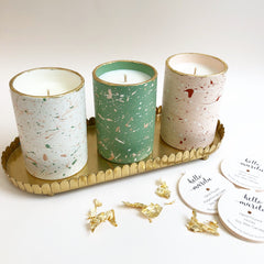 H&M tray for candle display