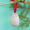 Pets Personalised ceramic baubles