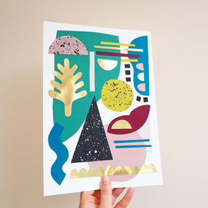 Abstract Collage Craft Kit
