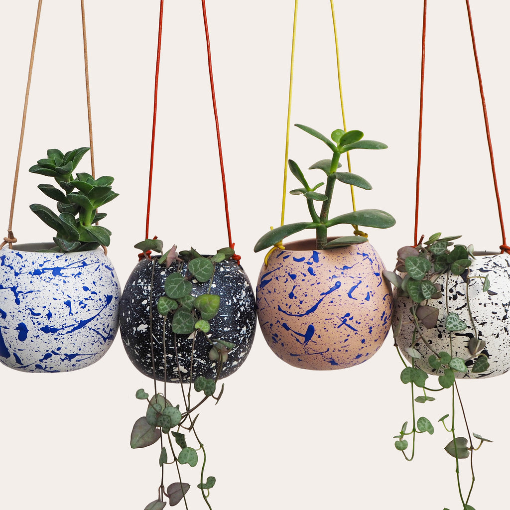 Make Your Own Splatter Hanging Planter Craft Kit