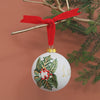 Large Festive Personalised ceramic bauble