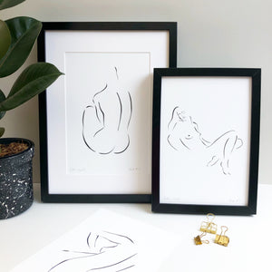 SAMPLE SALE Nude No. 2 Art Print