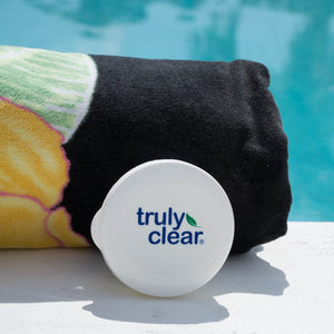Truly Clear One Step Acne Solution by the pool - The best acne soap for face & body