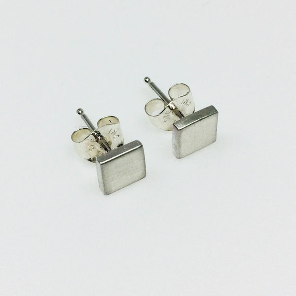 Square Studs - Squirrel's Nest Jewelry - 2