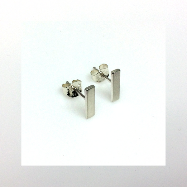 Bar Studs - Squirrel's Nest Jewelry - 2