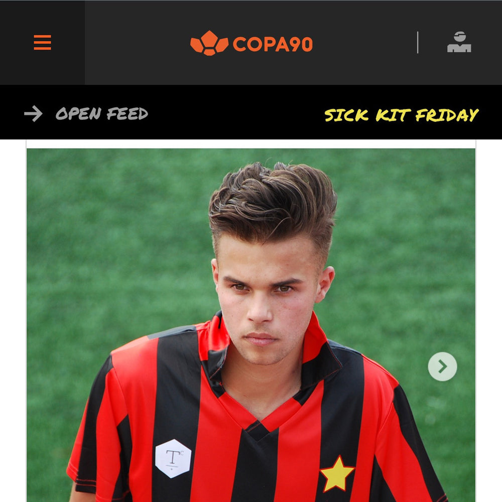 MIDFLD x Terrace Club Milan Inspired Jersey on Copa90 Sick Kits