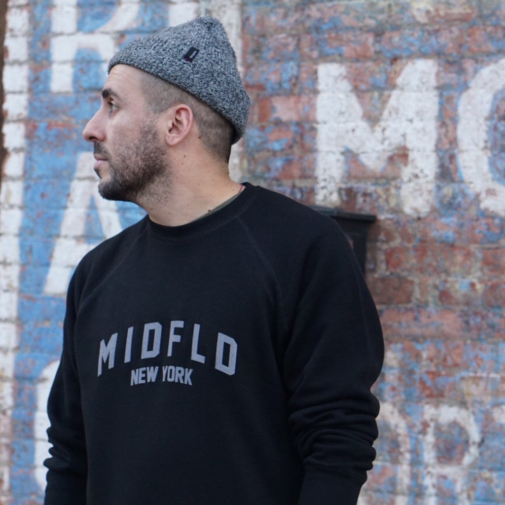 MIDFLD Premium Crewneck - MIDFLD New York - Find the space.