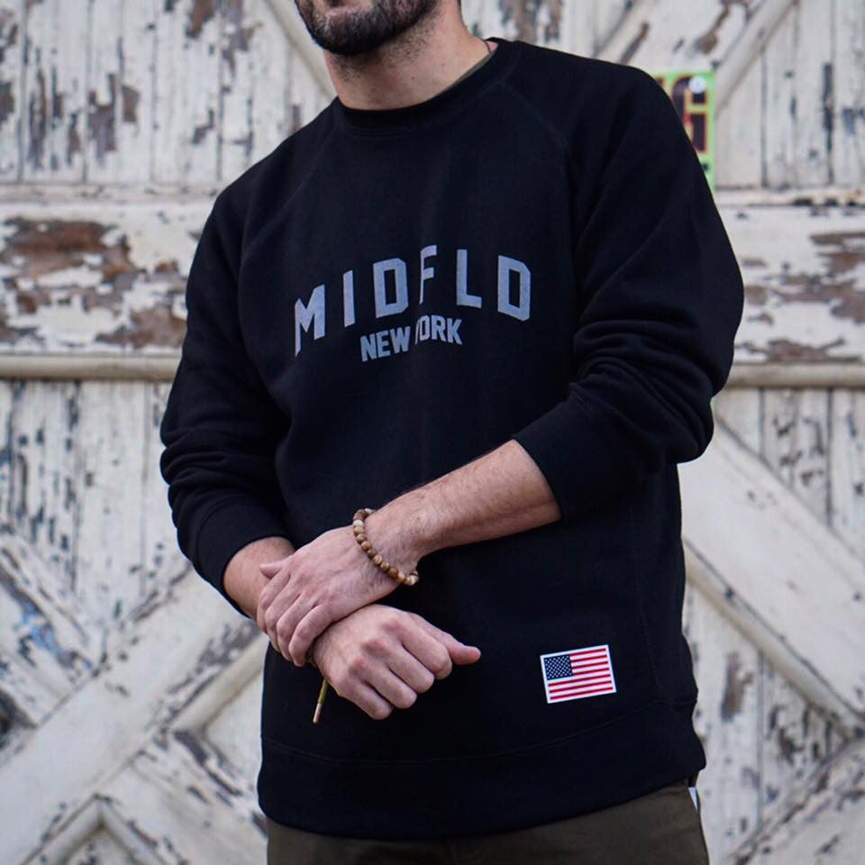 MIDFLD New York Premium Crewneck