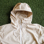 MIDFLD Wheel Light Windbreaker Jacket  - Khaki/White