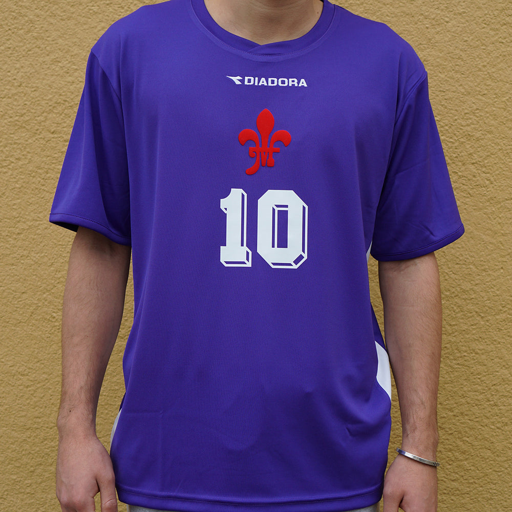 MIDFLD Firenze #10 Jersey - Purple