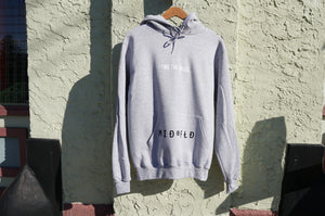 MIDFLD Champion™ M I D ® F L D Logo Hoodie - Light Steel