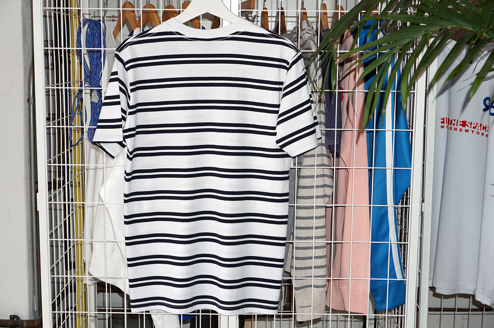 MIDFLD Trouver L'Espace French Stripe Short Sleeved T-Shirt
