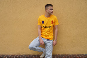 MIDFLD Socrates Short Sleeve T-shirt - Gold