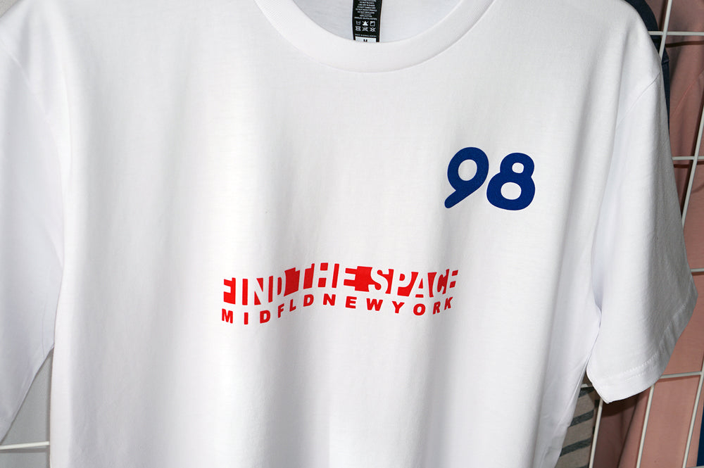 MIDFLD Zizou98 Short Sleeved T-Shirt - White