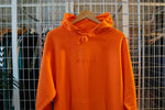 MIDFLD Small Space Logo Midweight Hoodie - Safety Orange