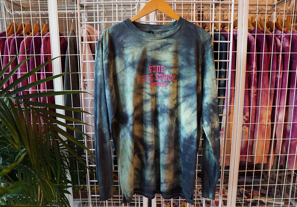 MIDFLD Find The Space Tie-Dye Long Sleeve T-shirt
