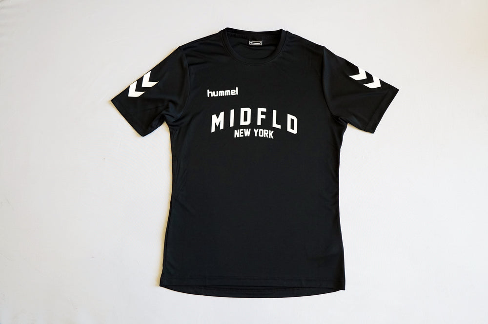 MIDFLD x Hummel Training Jersey - Black