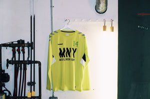 MIDFLD x Hummel - Attack in Waves Neon Long Sleeve Jersey