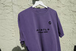 MIDFLD M New York T-shirt - Grape