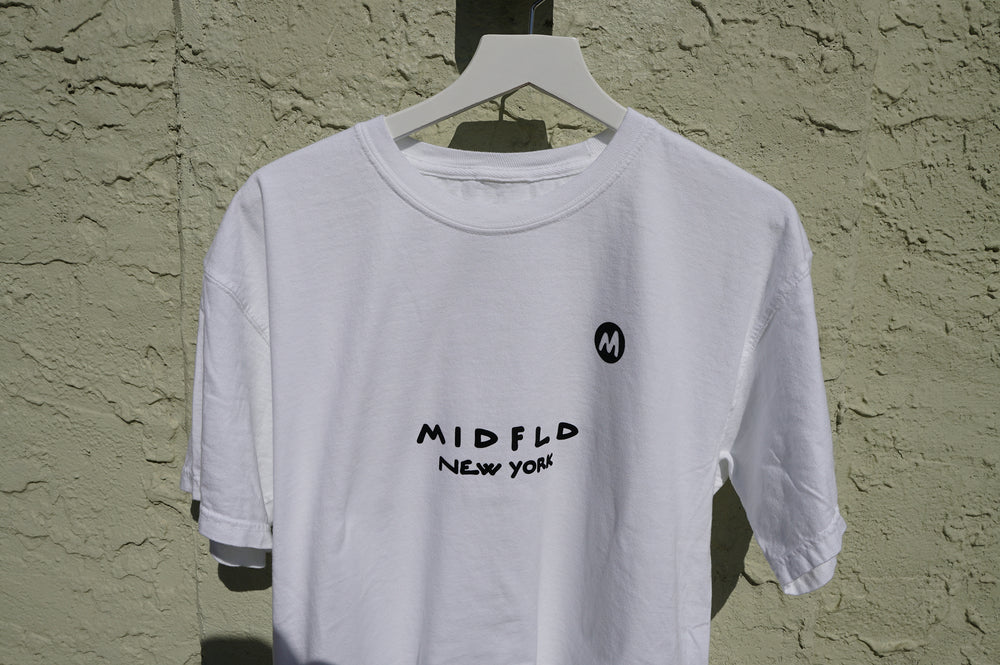 MIDFLD M New York T-shirt - White