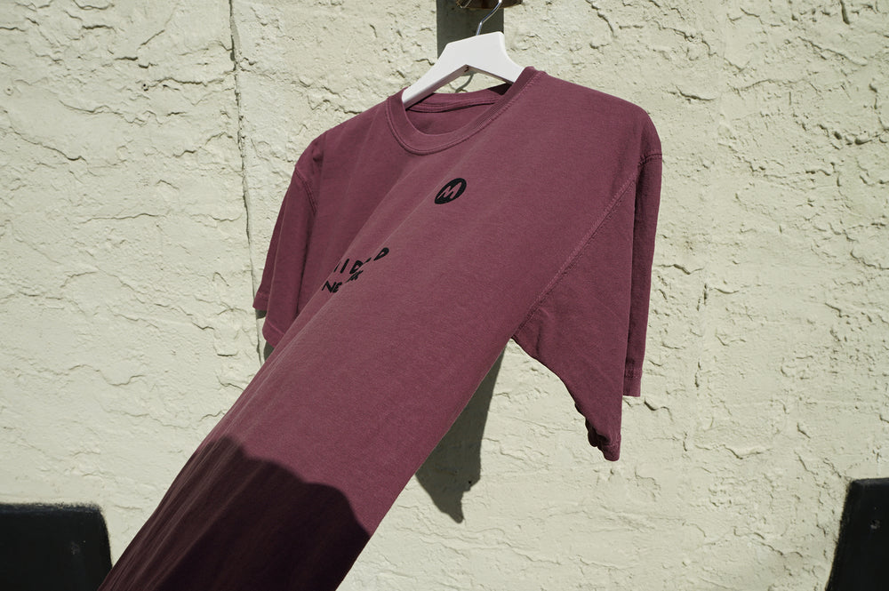 MIDFLD M New York T-shirt - Wine