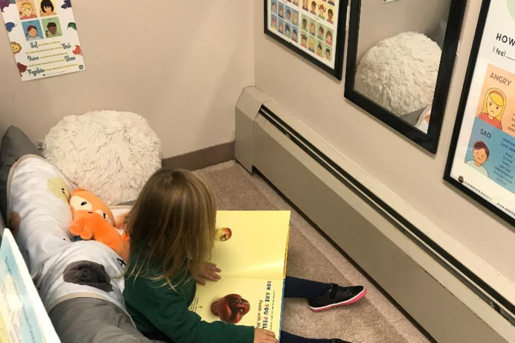 Preschool Teacher Creates Calming Corner to Teach Students About Emotions
