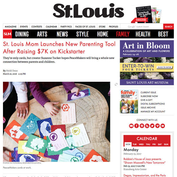 St. Louis Magazine: St. Louis Mom Launches New Parenting Tool After Raising $7K on Kickstarter