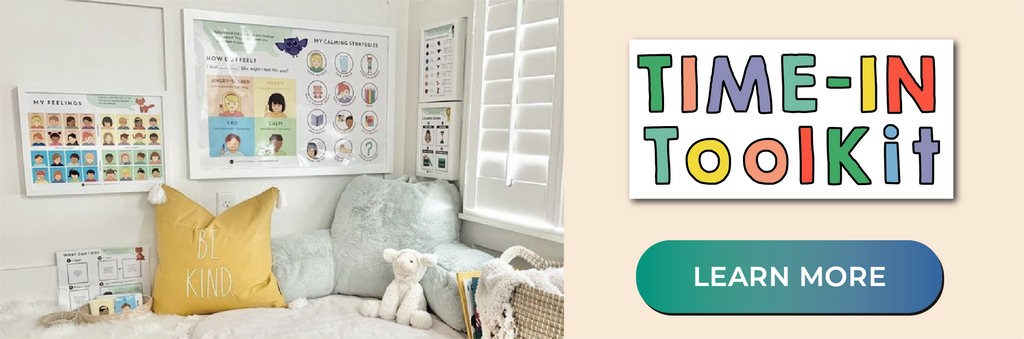 Time-In ToolKit - Alternative to time-outs and behavioral charts using positive reinforcement