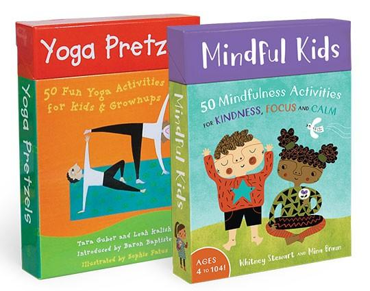 Barefoot Books: Yoga Pretzels and Mindful KIds
