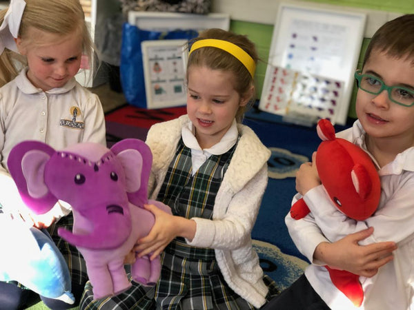 Classroom Circle Time with Generation Mindful's SnuggleBuddies