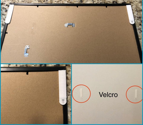 Double-sided velcro