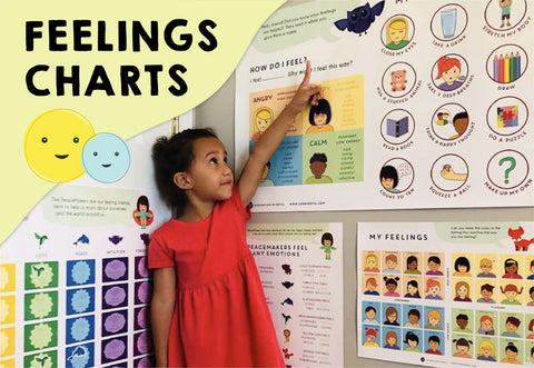Using A Feelings Chart To Teach Emotions