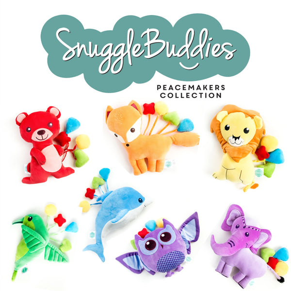 snuggle buddies huggable plush toys