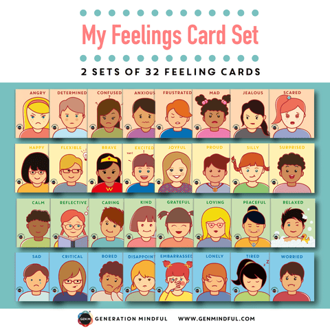 My Feelings Card Set (REWARD ADD-ON)
