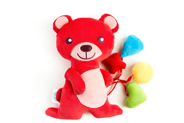 snuggle buddy red bear