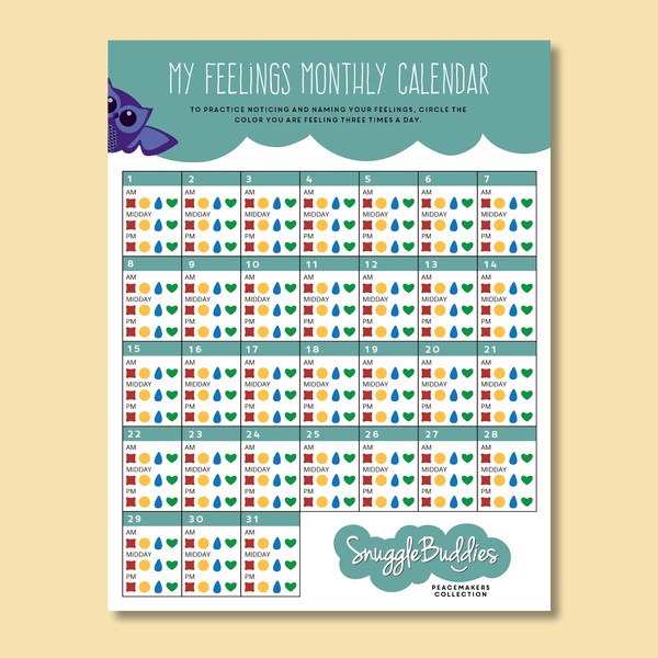 My Feelings Calendar