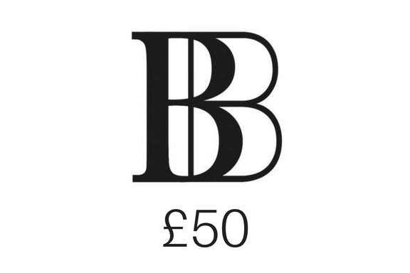 £50 Brash Bijoux gift voucher - Give a gift of love!