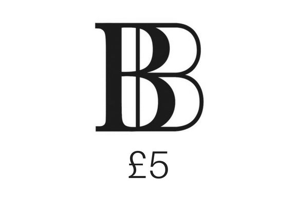 £5 Brash Bijoux gift voucher - Designer Jewellery with an edge