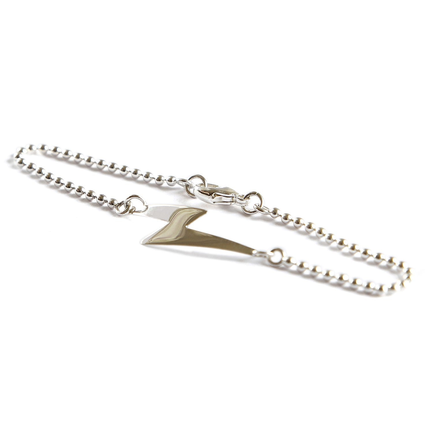 Get your rock on with the Bowie inspired Lightning Bolt Bracelet