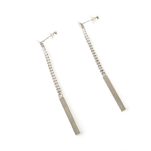 The Tie Drop Earrings are the perfect accessory to enhance any outfit. They dangle at the perfect length to catch the light and make you stand out.