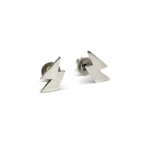 Mini Bolt Stud Earrings