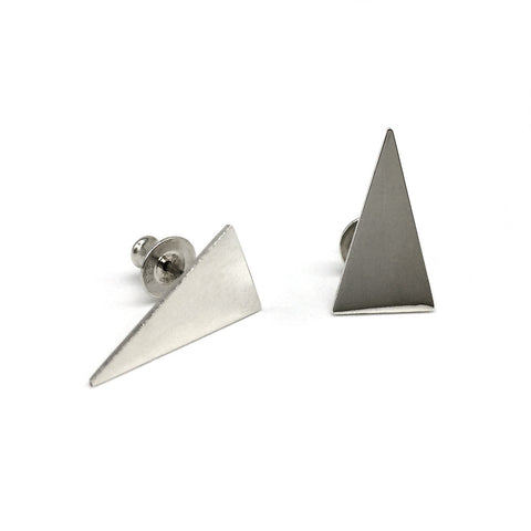 The Shard Studs have a modern style look, perfect for adding some edge.