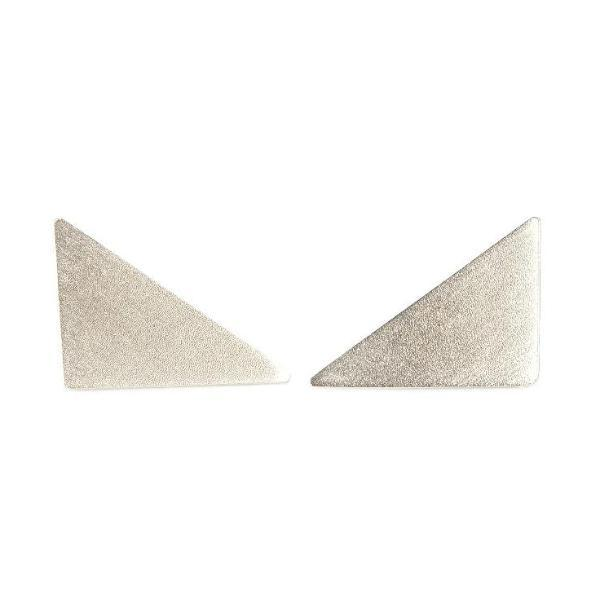 Triangle Shaped Studs from Brash Bijoux