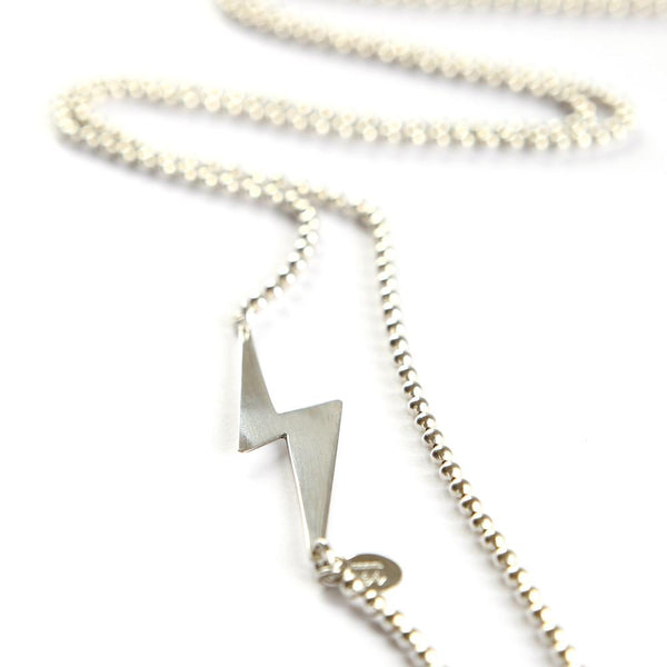 Extra Long Lightning Bolt Necklace