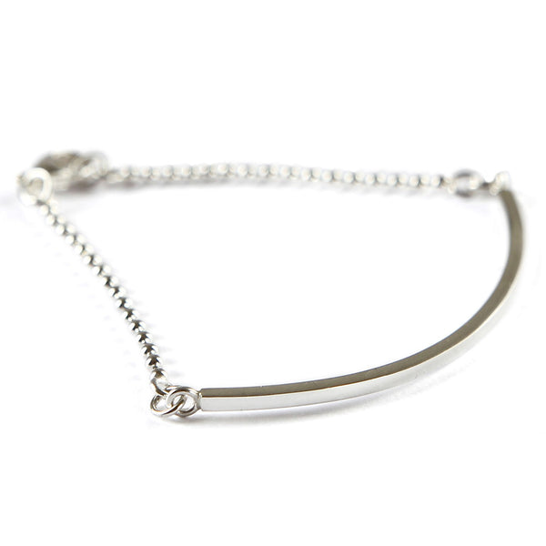The curved bar bracelet, part bangle, part bracelet! Gifts for her