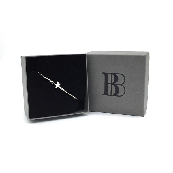 The Brash Bijoux Star Bracelet in branded gift box