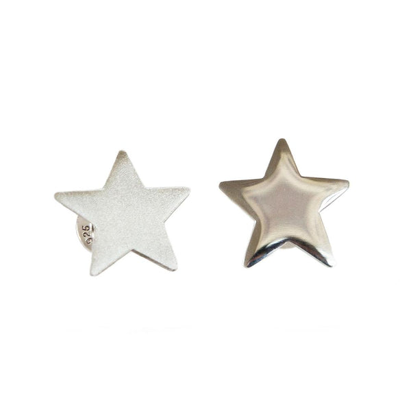 Shine and steal the show in these Star Stud Earrings from Brash Bijoux.