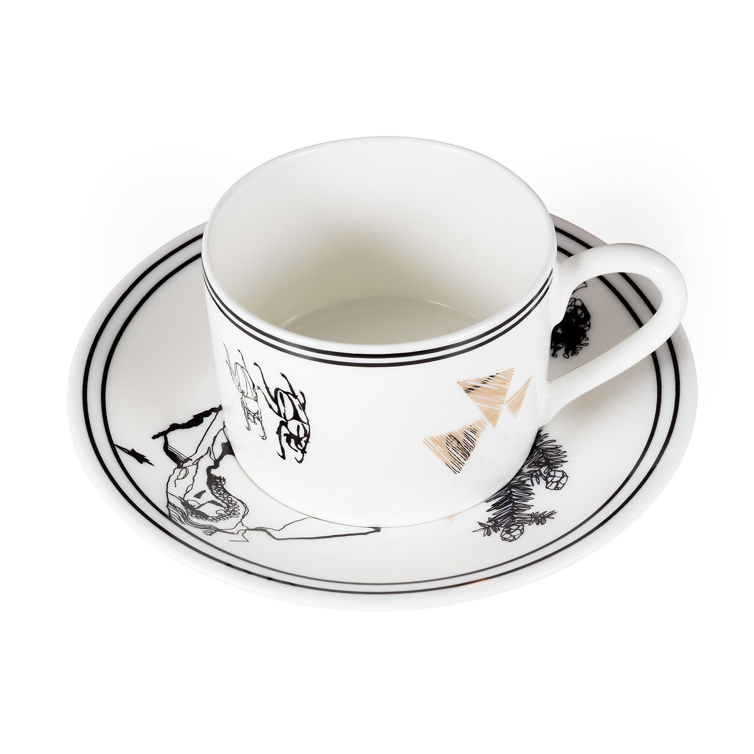 Fen Cup & Saucer - Harley Boden