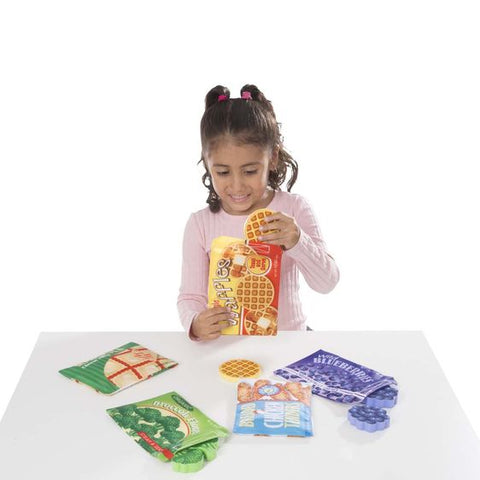 Store and Serve Frozen Food Set - Wooden Play Food